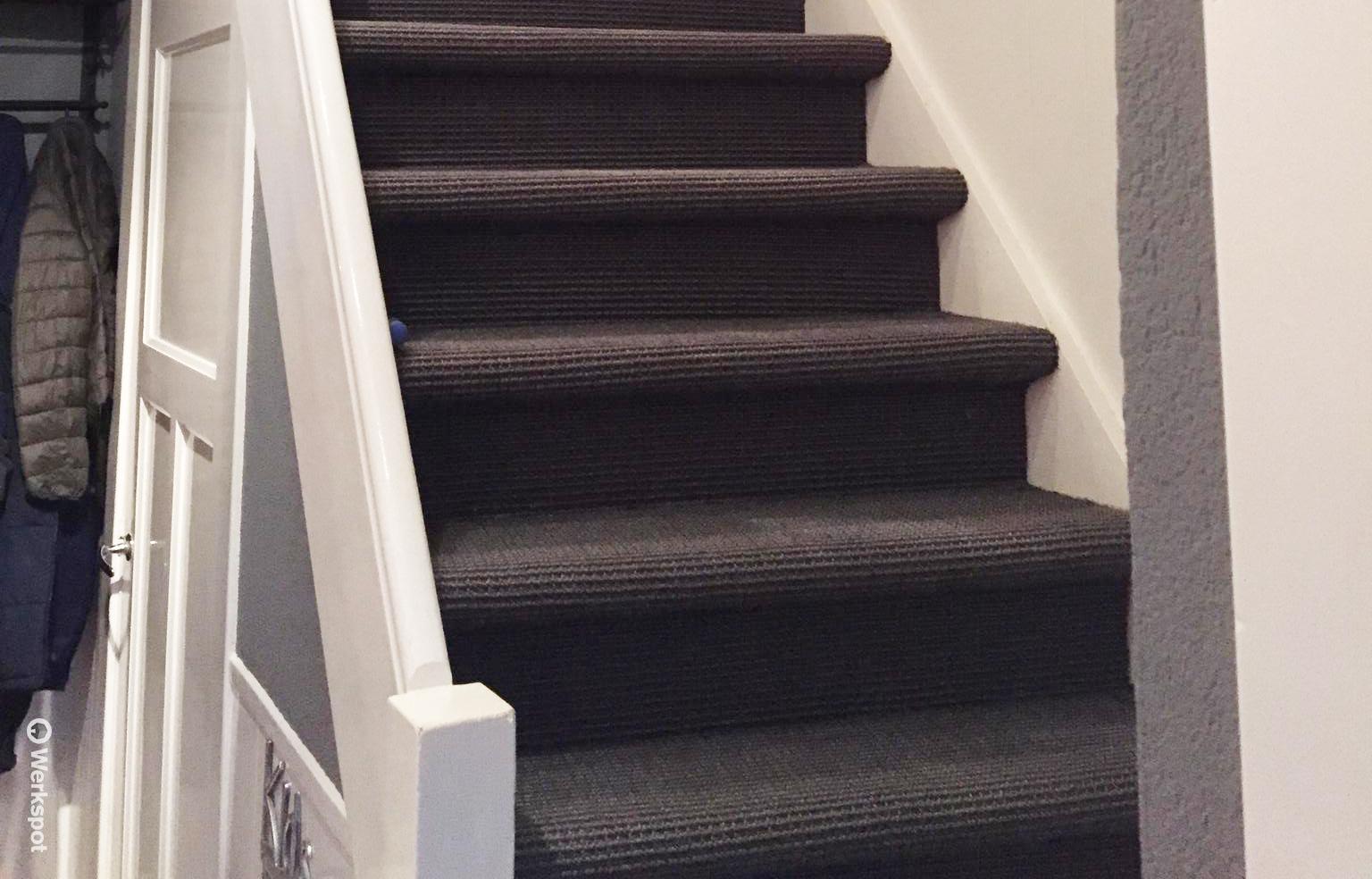Trapbekleding van witteloostuijn for Hoeveel traptreden heeft een trap